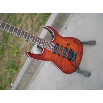 Custom Sunburst Tiger Maple Top Electric Ibanez Guitar