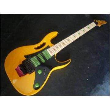 Custom Shop Yellow Ibanez Electric Guitar