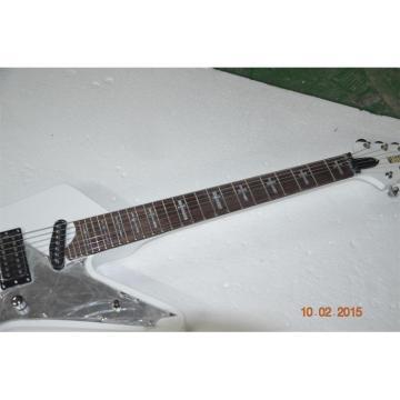 Custom Shop White Crying Star ESP 7 String Electric Guitar