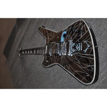 Custom Shop Washburn Mirror Glass Paul Stanley Electric Guitar
