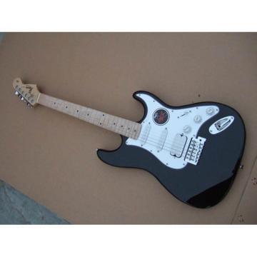Custom Shop Squire Black Fender Electric Guitar