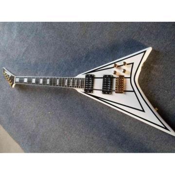 Custom Shop RR24 Electric Guitar Jackson Pro White
