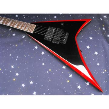 Custom Alexi Laiho ESP Red Black Electric Guitar