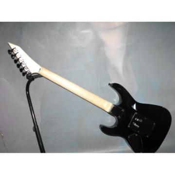 Custom Shop LTD Jet Black Electric Guitar
