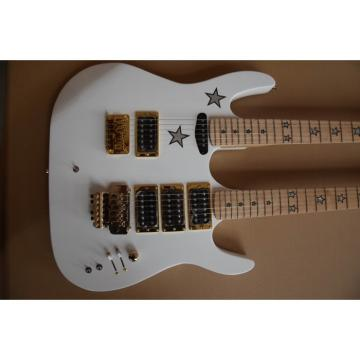 Custom Shop Kramer Double Neck White Richie Sambora Electric Guitar