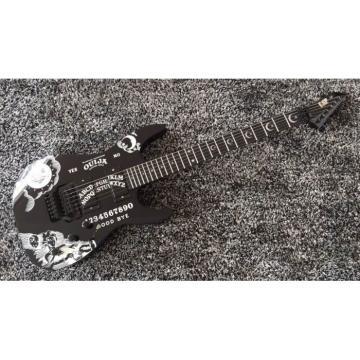 Custom Shop KH2OUIJA Kirk Hammett Ouija Black Back Opera Electric Guitar