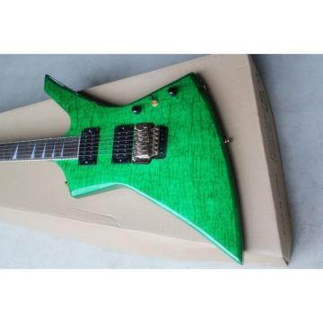Custom Shop Jackson KE2 Green Electric Guitar