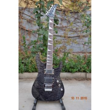 Custom Shop Jackson Soloist Gray Quilted Maple Top Electric Guitar
