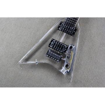 Custom Shop Jackson Lucite Plexiglass Acrylic Electric Guitar