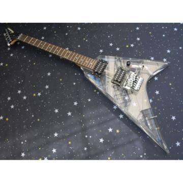 Custom Shop Jackson Lucite Acrylic Transparent Electric Guitar