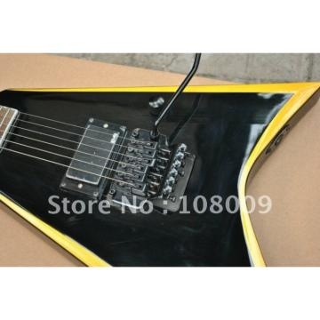 Custom Shop Jackson KE2 Yellow Electric Guitar