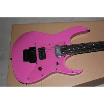 Custom Shop Ibanez Pink Electric Guitar Neck Through Body