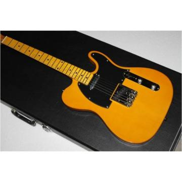 Custom Shop Fender Telecaster Yellow Electric Guitar