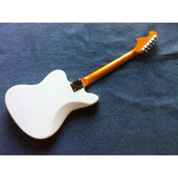 Custom Shop Fender 6 Strings Mustang White Electric Guitar