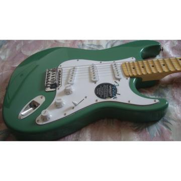 Custom Shop Fender Green Electric Guitar