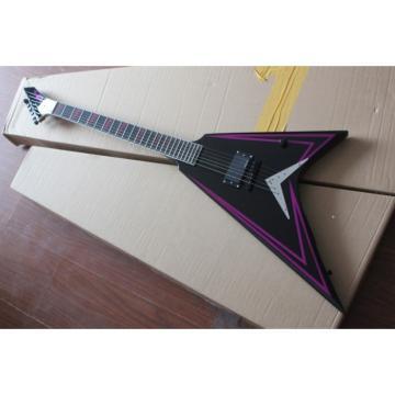 Custom Shop ESP Purple Electric Guitar