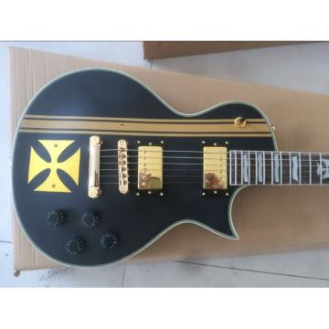 Custom Shop ESP Metal Iron Cross Electric Guitar