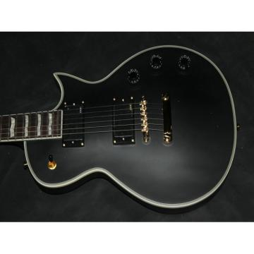 Custom Shop ESP Matt Black Electric Guitar