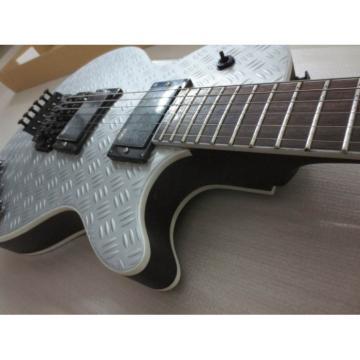 Custom Shop Eclipse ESP Matt Metallic Electric Guitar With Tremolo