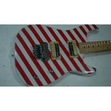 Custom Shop Charvel Stripe Red Electric Guitar