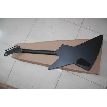 Custom Shop Combo ESP James Hetfield Electric Guitar Graphite Nut