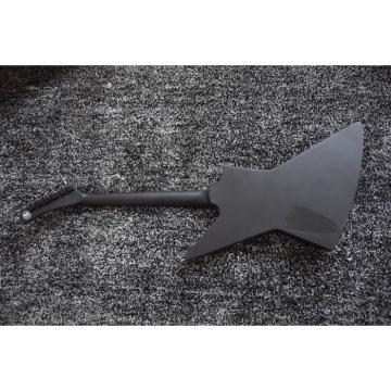 Custom Shop Combo ESP James Hetfield Black Electric Guitar EXP Deer Skull