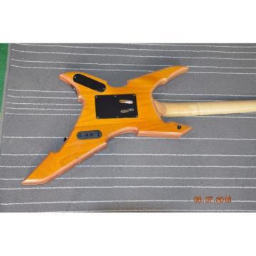 Custom Shop Avenge BC Rich Yellow Birdseye 6 String Electric Guitar