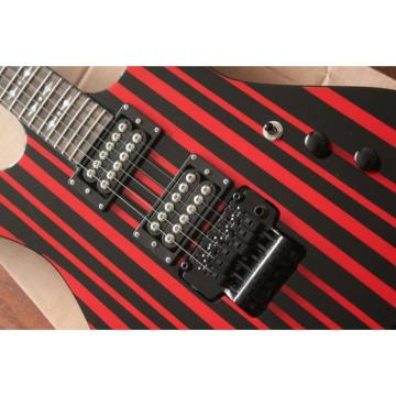 Custom Schecter Red Electric Guitar