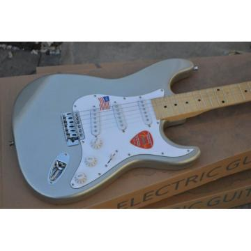 Custom Gray Fender Stratocaster Electric Guitar