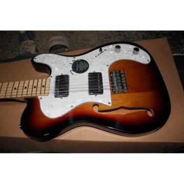 Custom Fender Vintage Fhole Telecaster Electric Guitar Thinline