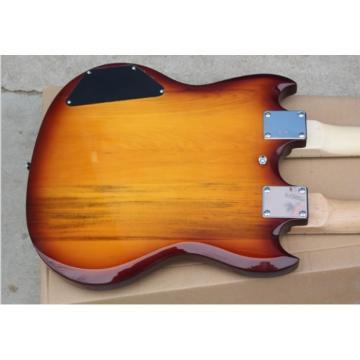 Custom Don Felder EDS 1275 SG Iced Tea Double Neck Electric Guitar