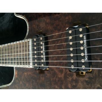 Custom Built Mayones Regius 7 String Electric Guitar Birds Eye Wenge Neck