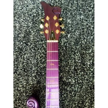 Custom Build Purple Prince 6 String Cloud Electric Guitar Left/Right Handed Option