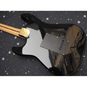 Custom Black Fender Stratocaster Electric Guitar