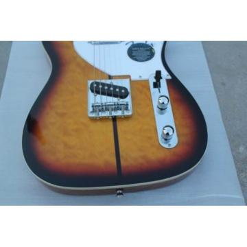 Custom American Fender Delux Natural Tobacco Electric Guitar
