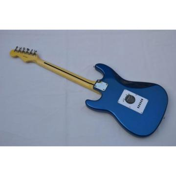 Custom American Fender Strat Metallic Blue Electric Guitar