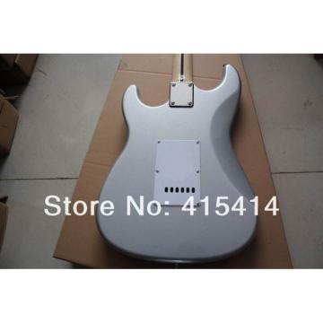 Custom American Fender Gray Stratocaster Electric Guitar