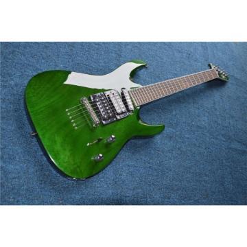 Custom  Shop Tranparent Green ESP Electric Guitar