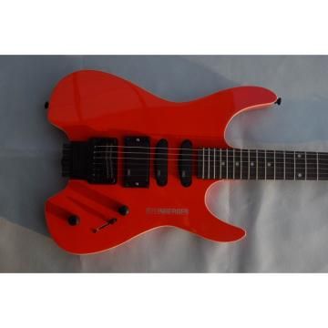 Custom Shop Red Steinberger Headless Electric Guitar