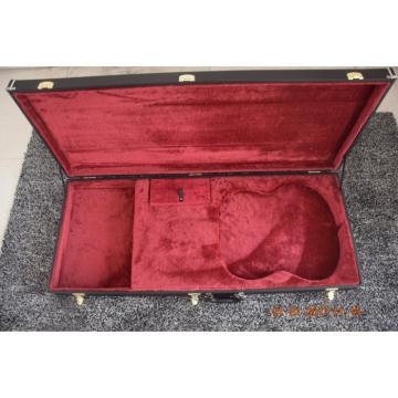 Custom Build Double Neck Jimmy Page Black Hard Case
