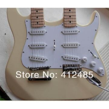 Custom Built Fender Stratocaster Vintage Double Neck Guitar