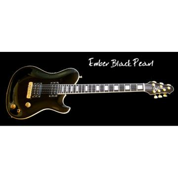 Custom Built EBP Black 6 Strings Guitar
