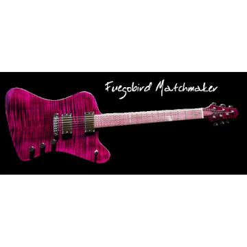 Custom Built FBM Flame Maple Top Purple Guitar