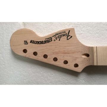 New Fender Strat Unfinished Scalloped Fretboard Birds Eye Maple Wood Neck