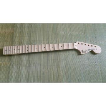 Fender Stratocaster Unfinished Scalloped Fretboard