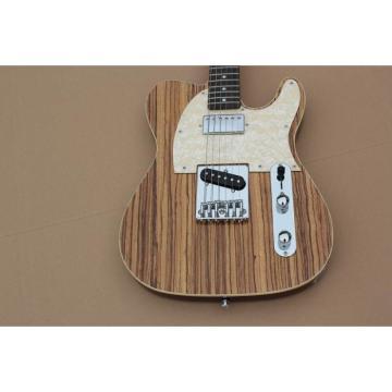 Custom Shop Natural Burlywood Fender Telecaster Guitar