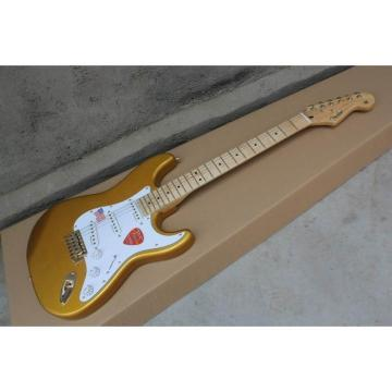 Custom Shop Gold Fender Stratocaster Guitar