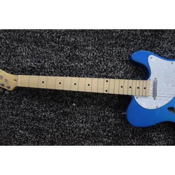 Custom Shop FHole Wilkinson Fender Pelham Blue Telecaster Guitar Thinline