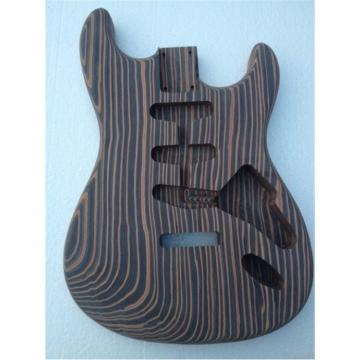 Custom Shop Fender Unfinish Builder Guitar Zebra No Painting