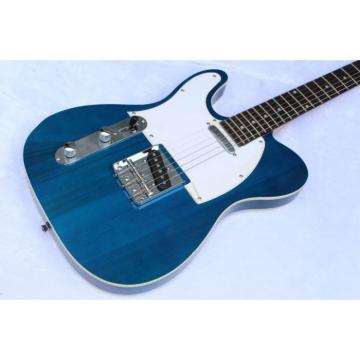 Custom Shop Fender Eric Clapton Blue Telecaster Left Handed Guitar